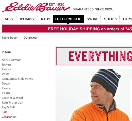 Eddie Bauer |エディー・バウアー の最新アイテムを個人輸入・海外通販