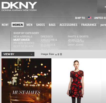 DKNY / ダナキャランニューヨーク の最新アイテムを個人輸入・海外通販