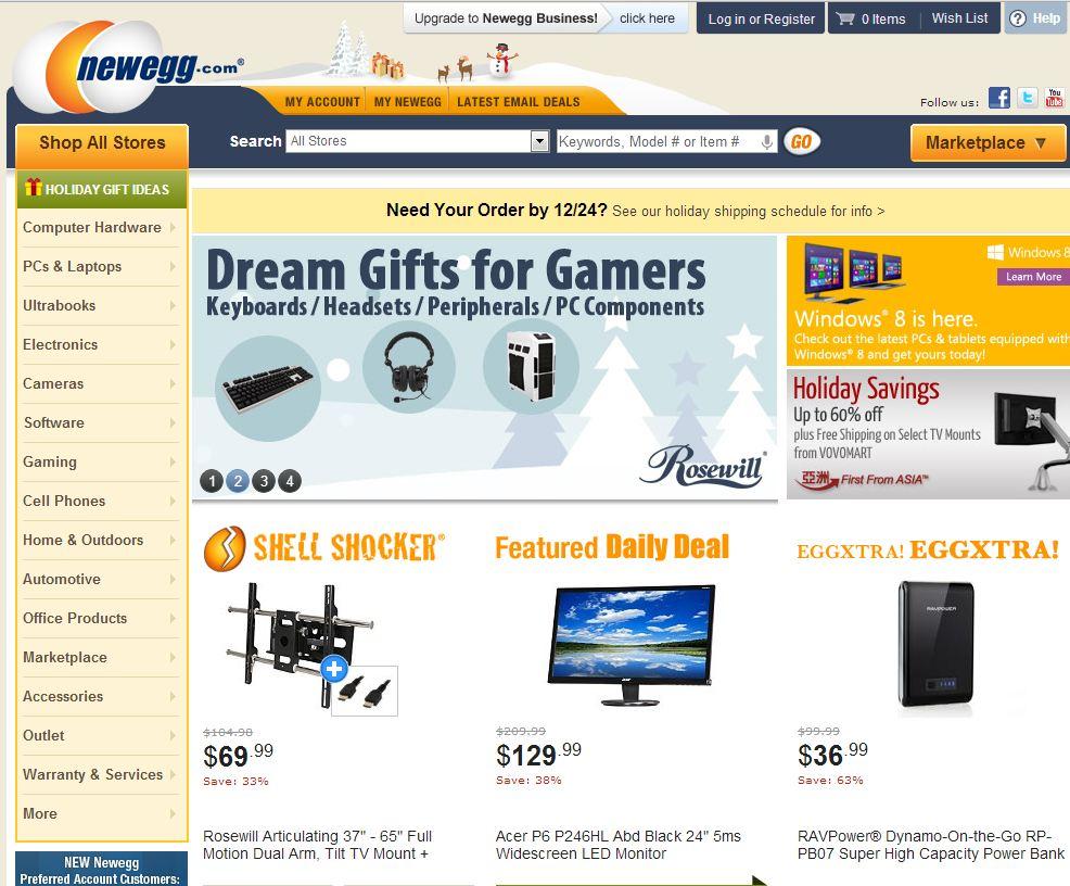 Newegg.com | ニューエッグドットコム の最新アイテムを個人輸入・海外通販