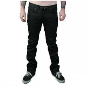 KR3W KSlims All Weather Black Wax Jeans