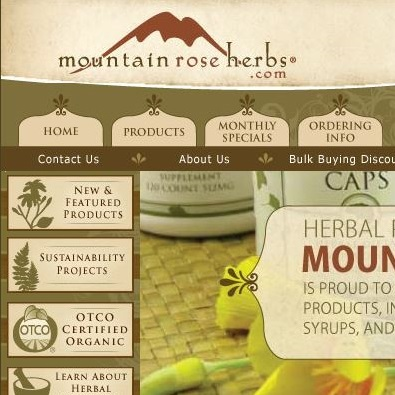 Mountain Rose Herbs.com /  の最新アイテムを個人輸入・海外通販