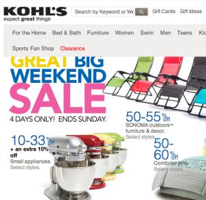 KOHL'S / コールズ の最新アイテムを個人輸入・海外通販