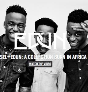 EDUN / イードゥン の最新アイテムを個人輸入・海外通販