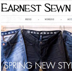 EARNEST SEWN / アーネストソーン の最新アイテムを個人輸入・海外通販
