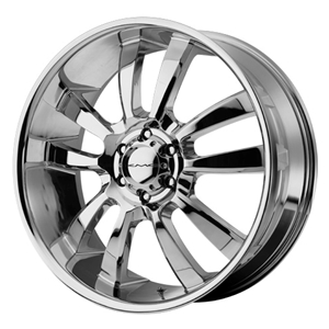 KMC Wheels: KM673 Skitch (Chrome)