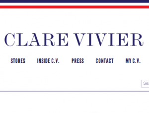 CLARE VIVIER  / クレア・ヴィヴィエ の最新アイテムを個人輸入・海外通販