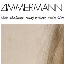 Zimmermann / ジマーマン の最新アイテムを個人輸入・海外通販