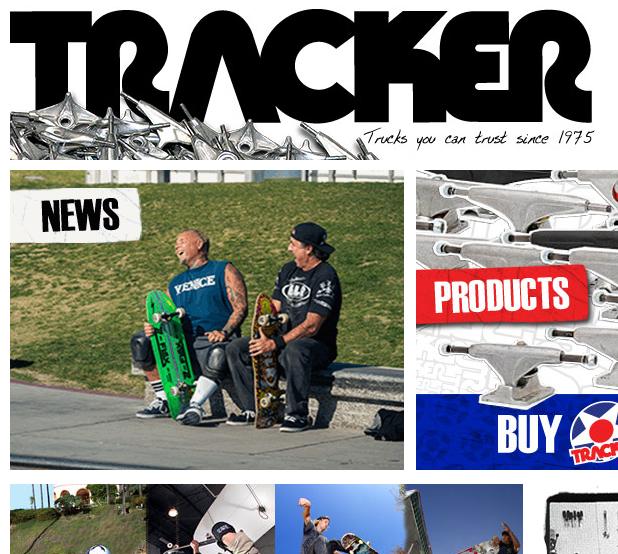 TRACKER TRUCKS / トラッカートラック  の最新アイテムを個人輸入・海外通販