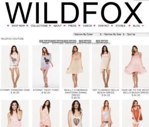 WILD FOX / ワイルドフォックス の最新アイテムを個人輸入・海外通販