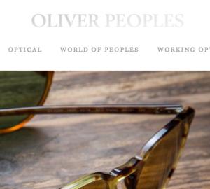 OLIVER PEOPLES / オリバーピープルズの最新アイテムを個人輸入・海外通販