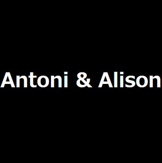 ANTONI & ALISON/アントニ&アリソンの最新アイテムを個人輸入・海外通販
