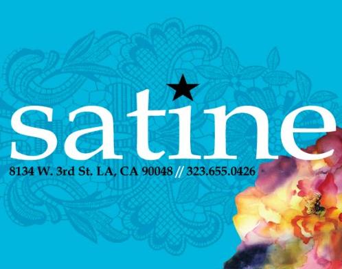 satine の最新アイテムを個人輸入・海外通販
