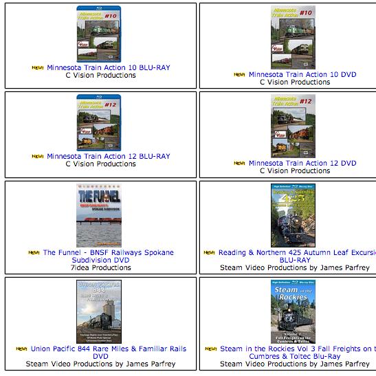 Train Video Depot.com | トレイン・ビデオ・デポの最新アイテムを個人輸入・海外通販