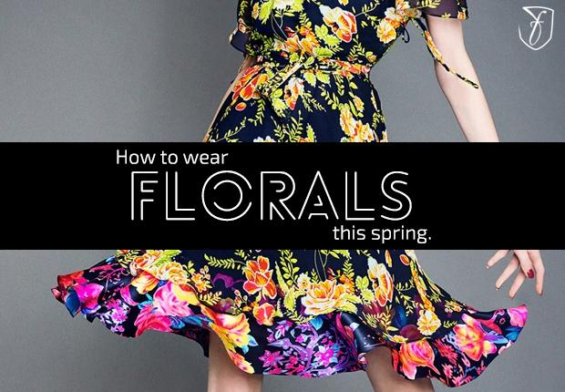 2014年 春夏 流行 最新ファッショントレンド 花柄