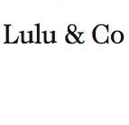 LULU&CO / ルルアンドコーの最新アイテムを個人輸入